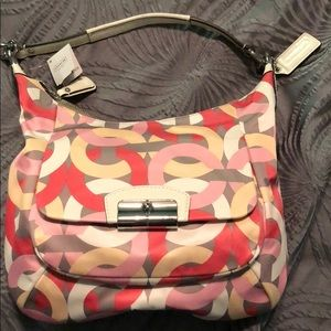 Coach purse with Springy Colors